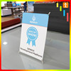 Digital Printing plastic display rack mini x banner stand