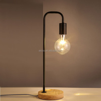 Decorative Vintage Industrial Rust Pipe Table Lamp With Edison ...