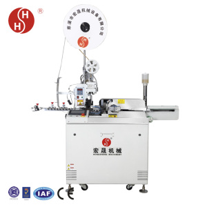 auto one end connector cable crimping machine terminal, ac cable crimping machine amp crimp terminals HS-63111 five lines