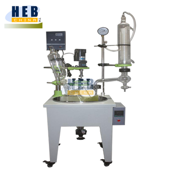 HB-20L Industrial Monolalyer Glass Reactor