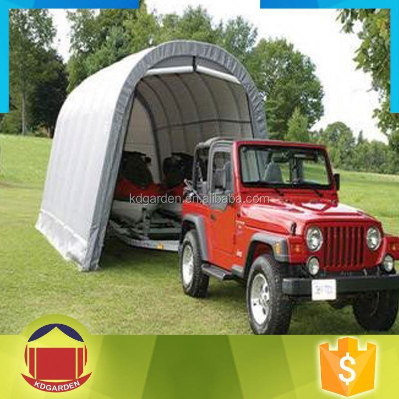 Pvc Canvas Carport Storage Shelter