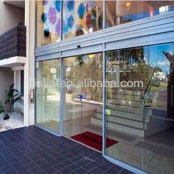 Automatic Door Servo Motorcommercial Double Glass Doors Opening