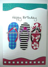 Decorating Birthday Greeting Card Design