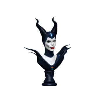 Maleficent Animated Character Angelina Jolie Coronation With Maledicent Headpiece Bust Statue Buy Bust Statue Maleficent Headpiece Maleficent Statue