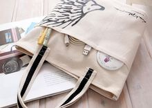 New arrival good reputation custom design canvas bag heathy lifestyle