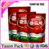 Yasonpack hanging plastic pouches popsicle pouch fruit packaging pouches