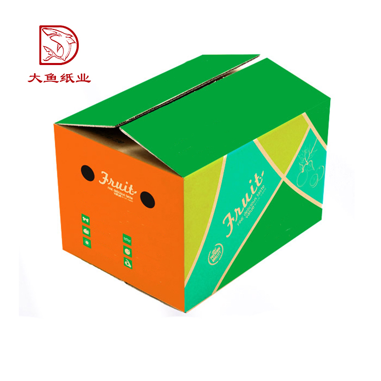 Alibaba quality supplier wholesale custom printed and size recycle corrugated packaging carton box