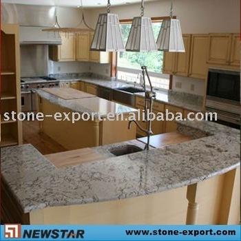 Superior White Kitchen Modular Granite Countertops