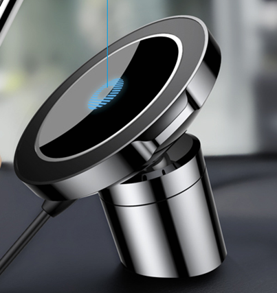 Novelty wireless charger car magnet qi wireless charger 360 degree wireless car charger фото