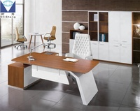 Modern Office Furniture L Shape Manager Executive Office Desk
