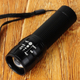 Zoomable LED Flashlight Taigeer Power Source ,high-performance Flashlight