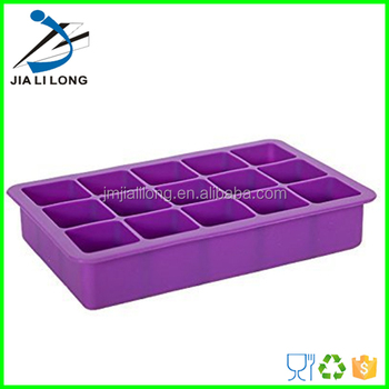 Silicone Ice Cube Form Using In Freezer - Buy Silicone Ice Cube ...