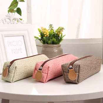 Kawaii Pen Holder Simulation of Pencil Bag Creative Cloth Case School Supply for Girls
