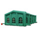 Amazing green or customized outdoor inflatable party tent , wedding tent