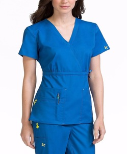 woman medical scrubs