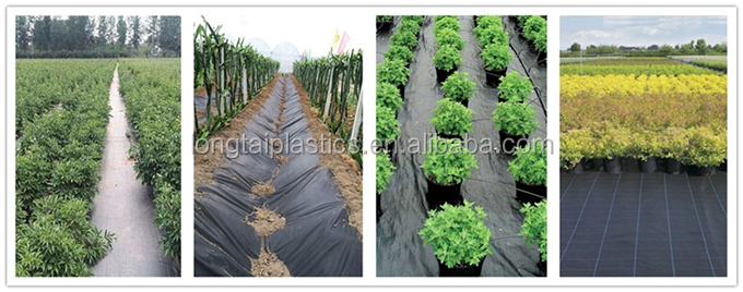 Weed barrier fabric agricultural plastic ground cover Landscape Garden mats ground cover 100% pp material weed mat
