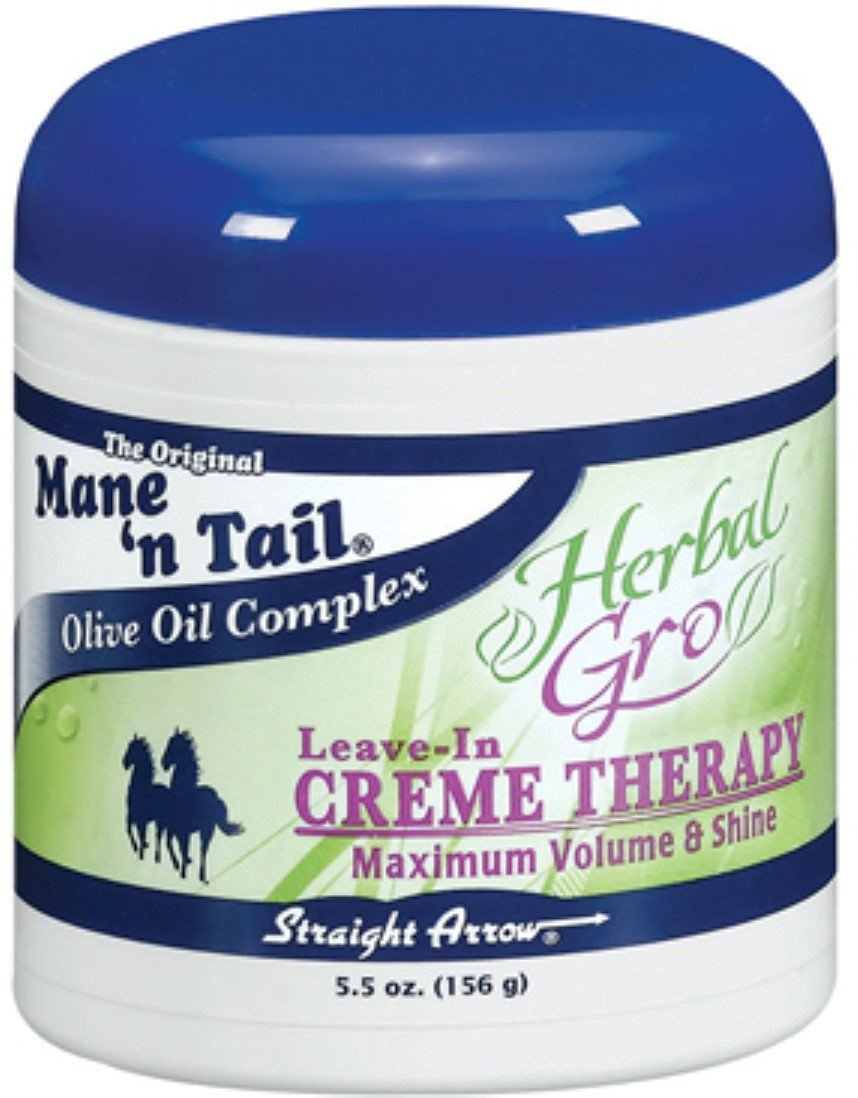 Mane'n Tail Leave-In Herbal-Gro Crème Therapy, 5.5 oz (Pack of 12)