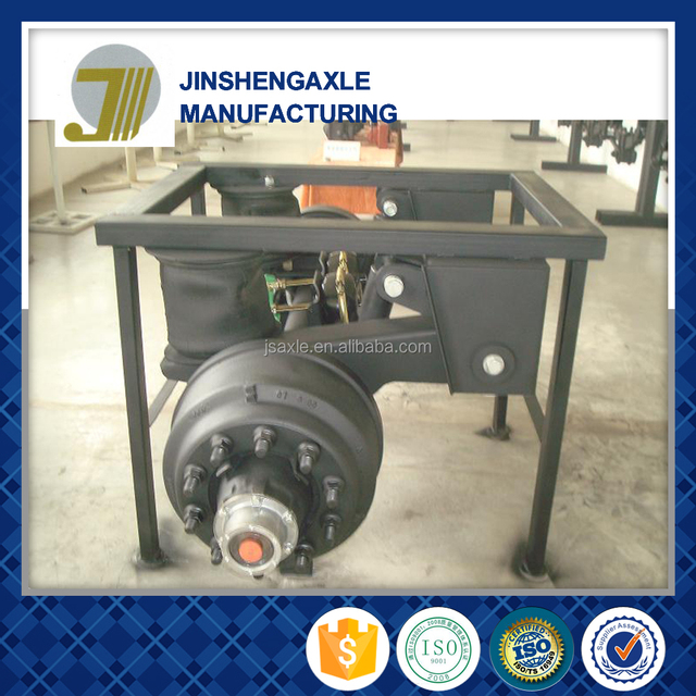 sale agricultural semi trailer axles air suspension