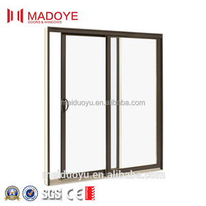 Aluminum Frame Sliding Glass Window Office Interior Sliding Window