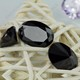 Top High Quality Black Oval Loose Cubic Zirconia CZ Gemstone