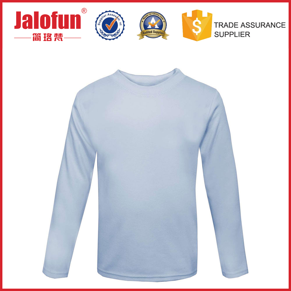 Factory Price Long Sleeve Bamboo Full Sublimation Printing T Shirt