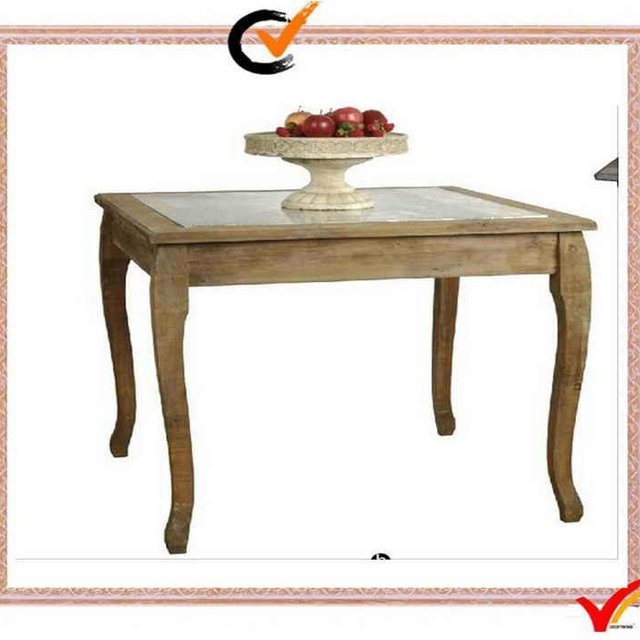FSC Vintage Shabby Chic Wood Dining Table
