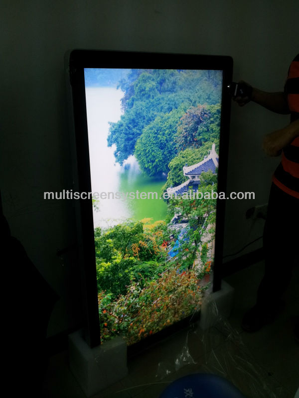 27 inch touch screen wall mounted advertising display Android/WIFI