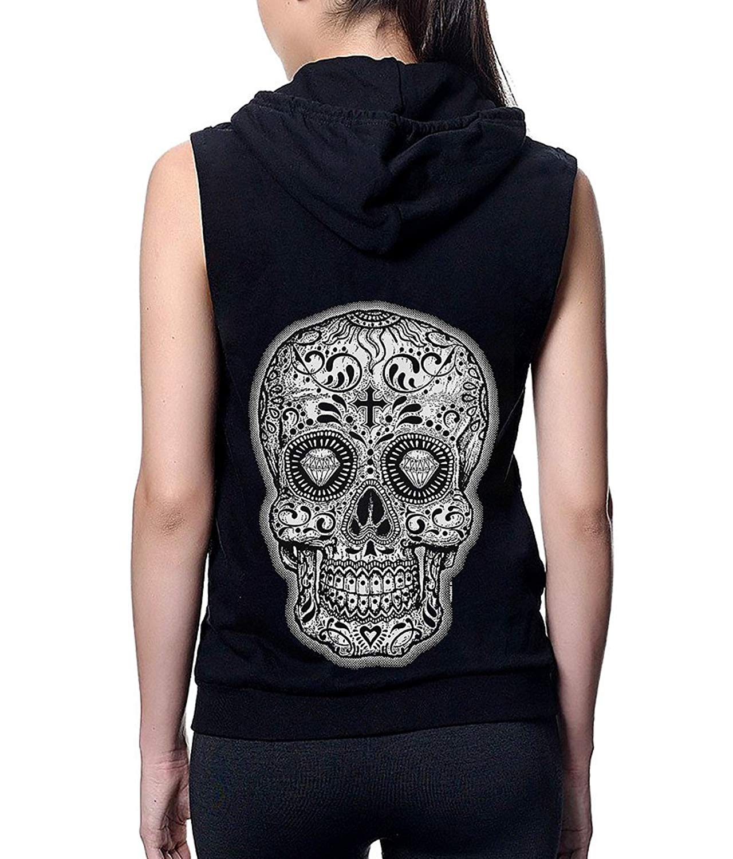 Futong Huaxia White-Tiger Funny Men Zipper Hoodie Sweatshirt Sportswear Jackets With Pockets Black