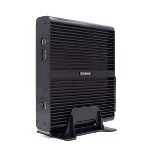 Image of 4 cores 8 threads fanless gaming mini pc 8th gen Intel Core i7 8550U 12v Thin Client win10 Linux HTPC UHD 620 computer