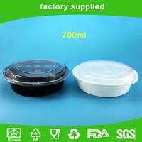 Disposable plastic take away food containers microwavable food container