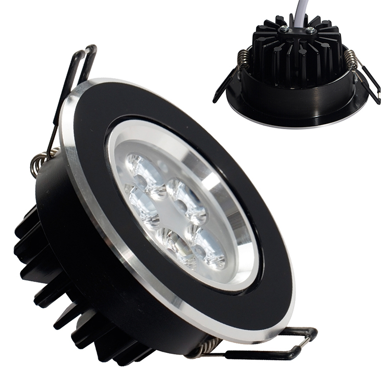 6 Lamp Value Pack 3 inch LED Downlight 3W 5W 70mm Cutout 85mm Diameter Soft White Bright White LED Ceiling Downlight