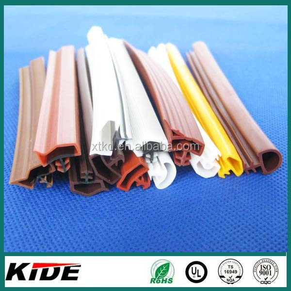 kerf slot weather stripping plastic door seals