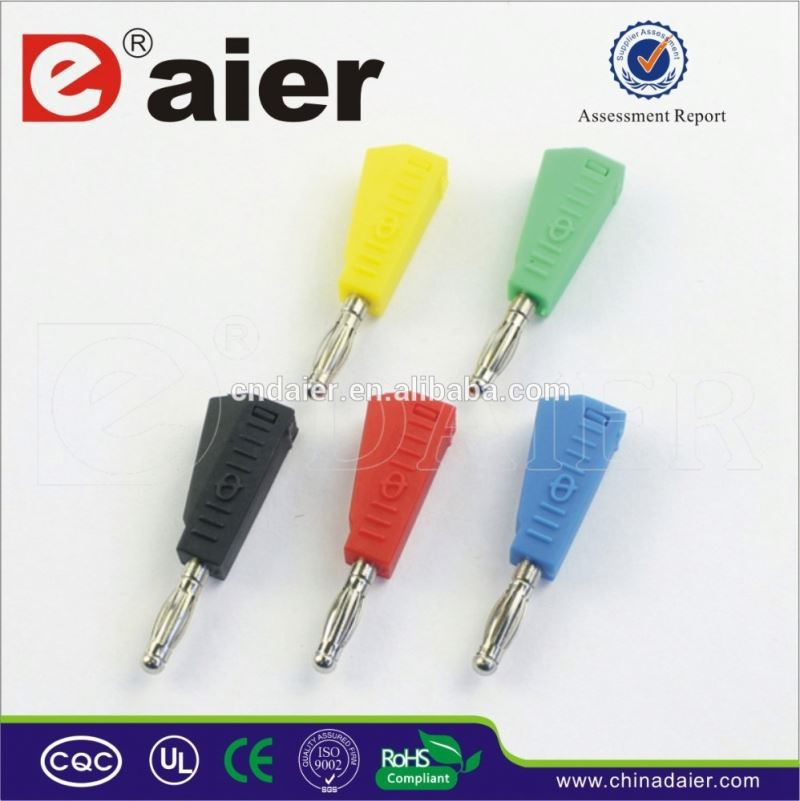Daier 4mm electrical banana plug