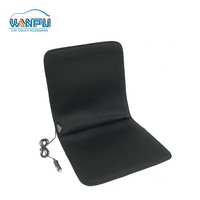 Universal ergonomic soft Therapeutic hot Warmer massage 12V heating Car Seat Cushion