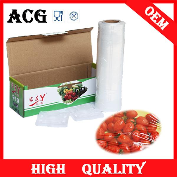 Fruits and vegetables blue protective film for glass for catering
