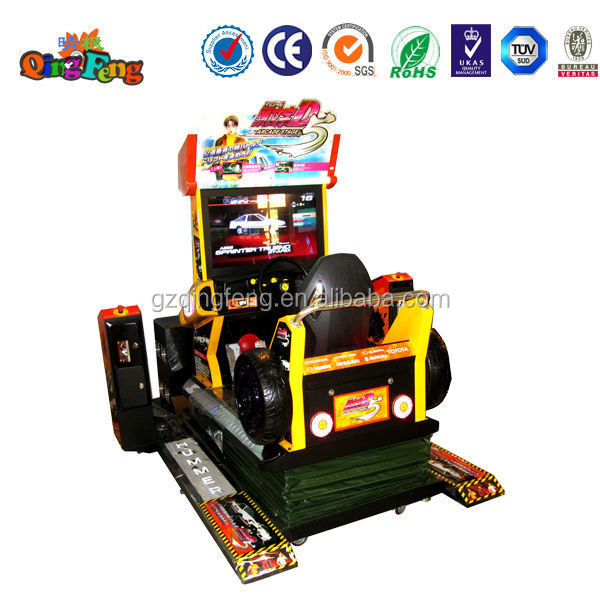 Qingfeng Game Center Electric Game Machine Hummer Simulator Arcade ...