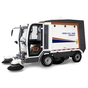 MN-S2000 Electric Road Cleaning Machine Sweeper Truck