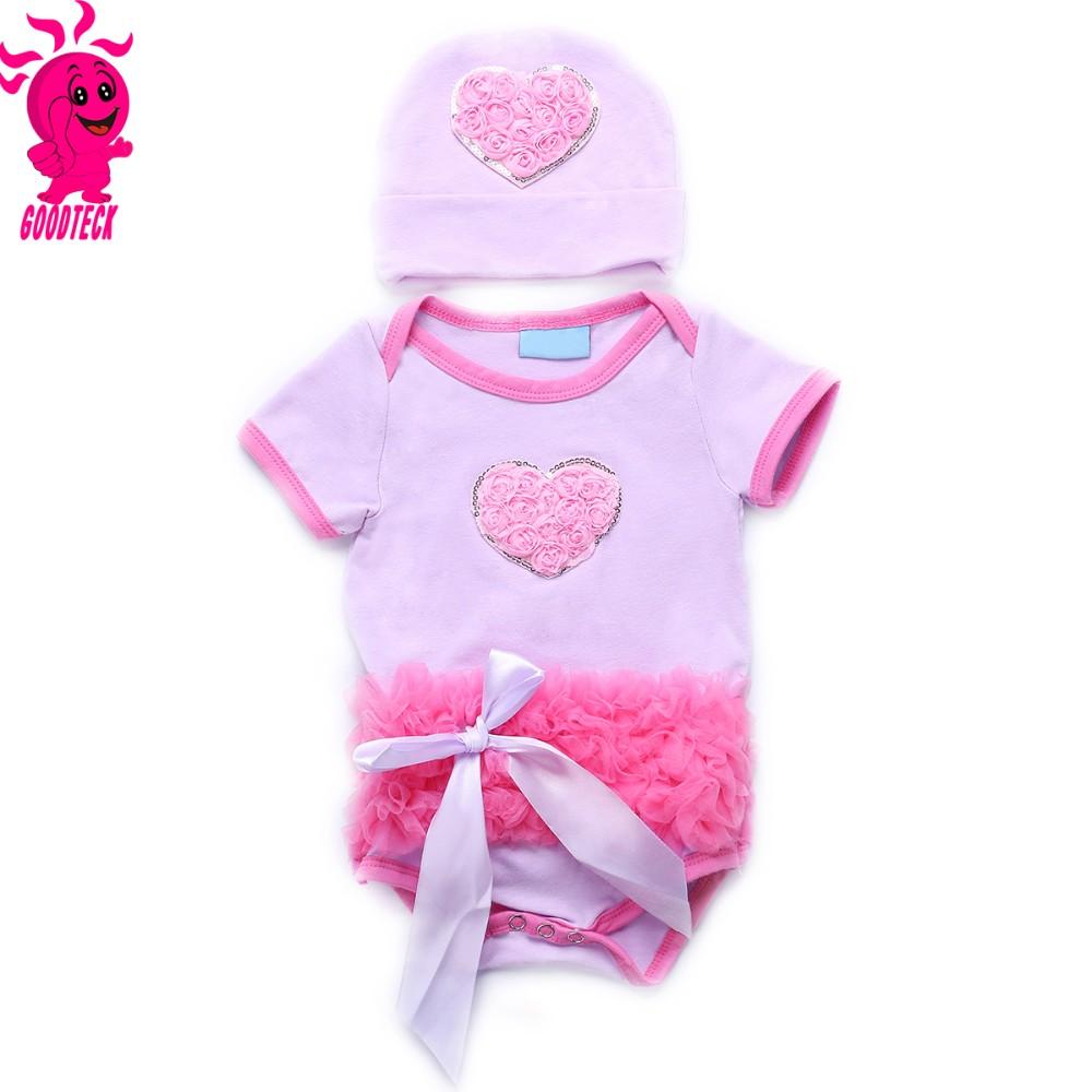 3 unids conjunto corona del bebé del vestido del tutú infantil 1st ...