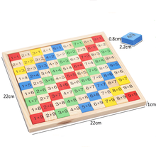 Early educational toy kids learning toy wholesale educational multiplication table