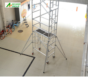 2018 hot sale mobile aluminum scaffold for outdoor building construction sale