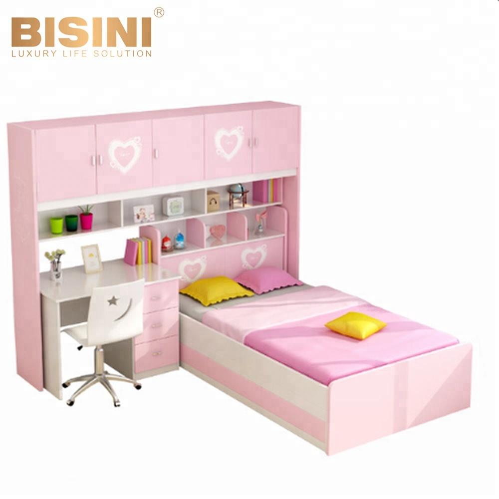Bisini Modern Wooden Children Bunk Bed,Girl Lovely Combination Bed,Boys  Bedroom Furniture Bf09-70002 - Buy Children Bedroom Furniture,Kid Bed ...