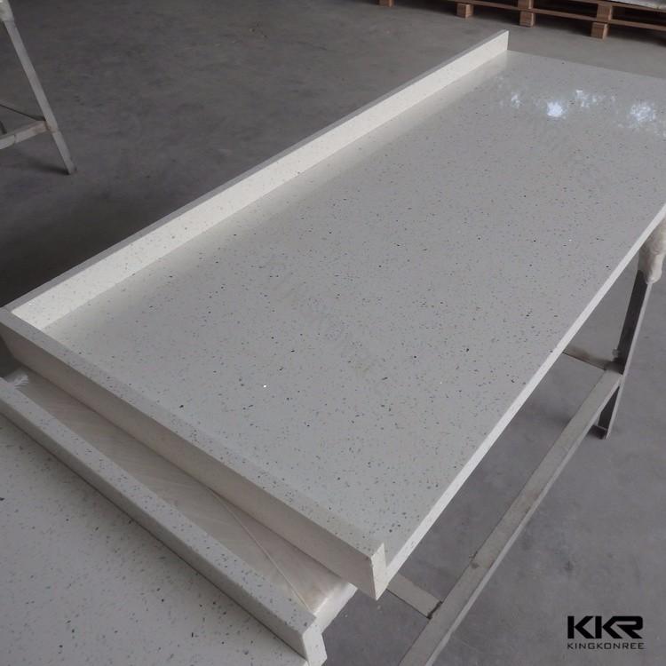 Sparkle White Quartz Paint Bathroom Kitchen Countertop