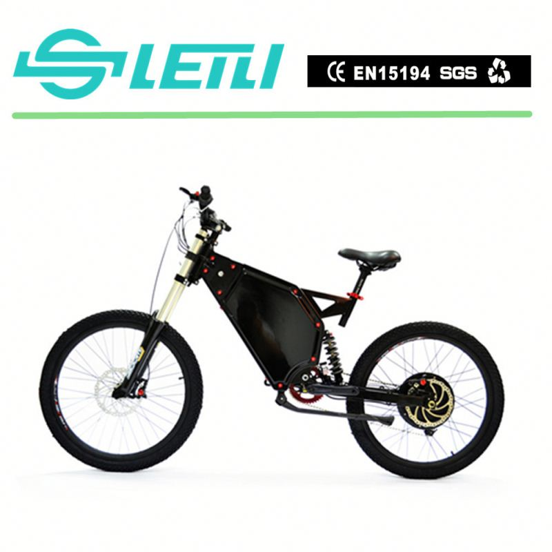 "5Kw Integrated Rear Wheel 19"" Inch Lightweight Green City Electric Bike with the TFT display"