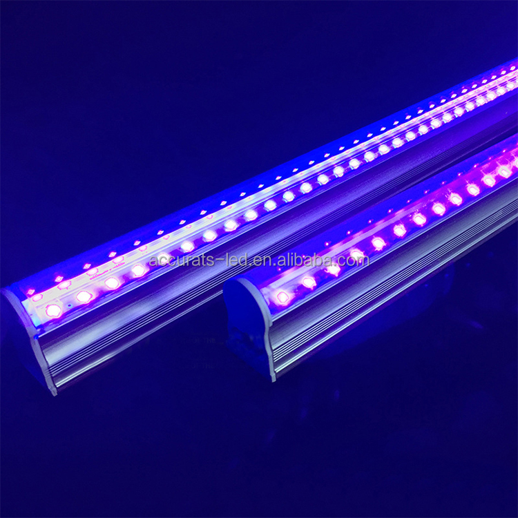 La luz uv desinfectante 380nm tubos led t8 3ft 14 W uv led luces de tubo