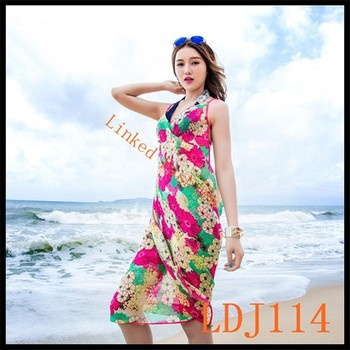 da714cc6ce2da Sexy Women s Body Wrap Swimsuit Cover Up Fashion Bikini Beach Dress Sarong  Scarf