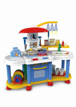 Newest Kitchen Set Toys For Kids Plastic Big Kitched Play Set Kids