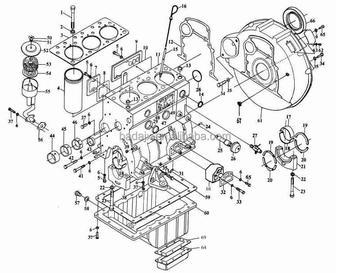 Jinma_Tractor_Yangdong_Y380_Diesel_Engine_Parts_Jinma_Tractor_Parts