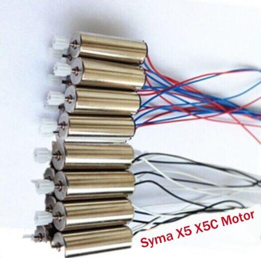 4PCS Syma X5 X5C Motor RC Quadcopter Spare Parts Motor 2pcs Motor A and 2pcs Motor B