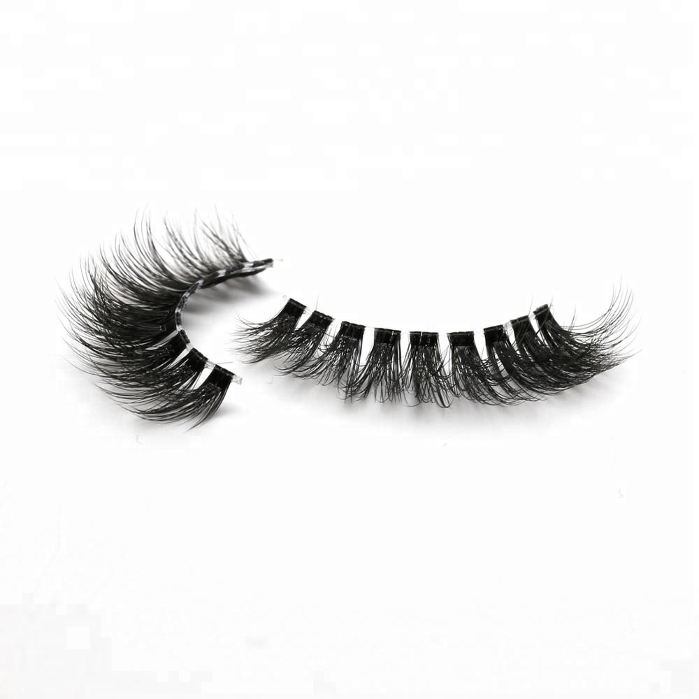 Worldbeauty Eyelashes Manufacturer 3D Invisible Band Faux Mink Lashes Private Label фото