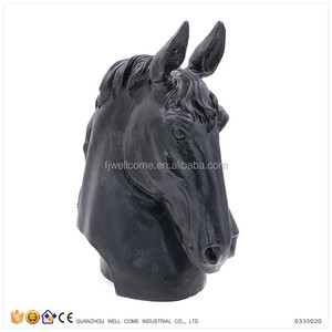 Table Decoration Resin Horse Head Sculpture